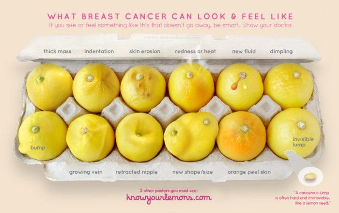 breast lemons
